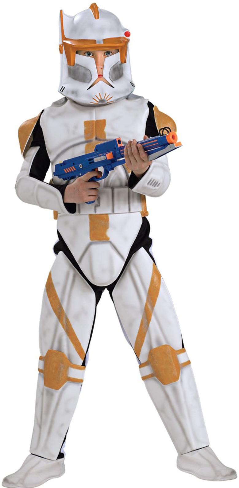 Star Wars Animated Deluxe Clone Trooper Commander Cody