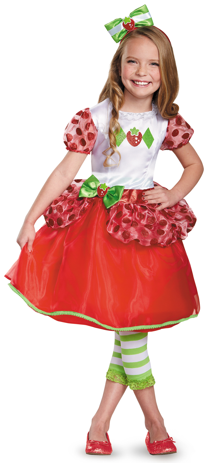 Strawberry Shortcake Deluxe Toddler Costume - PartyBell.com