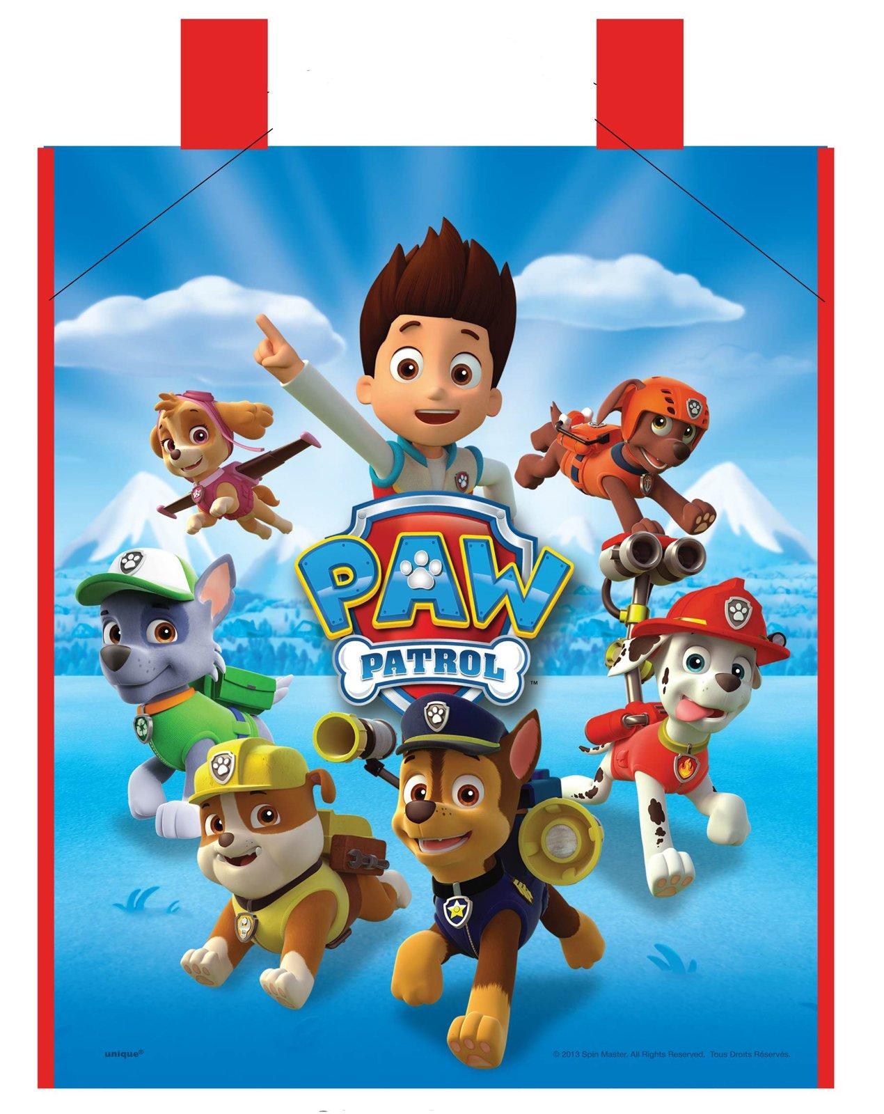 Paw Patrol Tote Bag Partybell Com