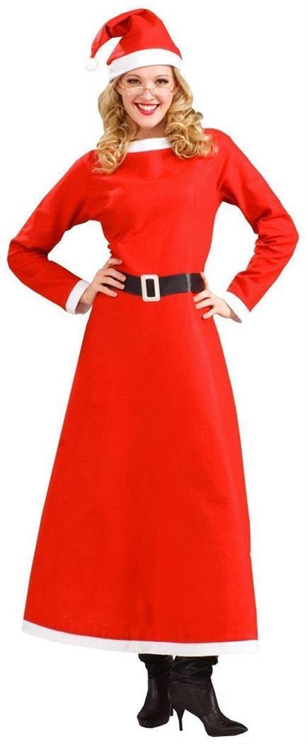Simply Mrs Santa Christmas Costume Dress Adult