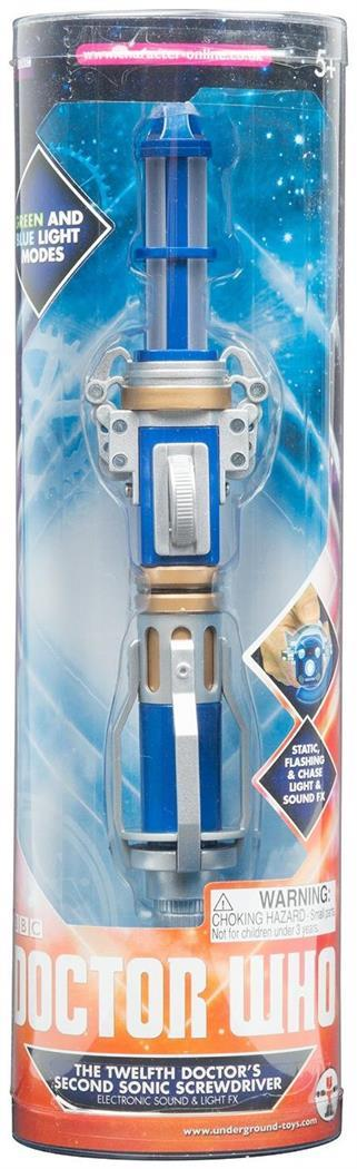 doctor who 12th doctors second sonic screwdriver with