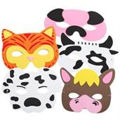 Farm Animal Foam Masks