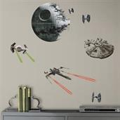 Star Wars VII Spaceships Peel and Stick Wall Decals