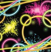 Glow Party Lunch Napkins (16)