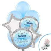 Twinkle Twinkle Little Star Blue Balloon Bouquet