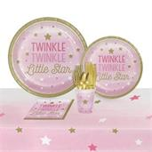 Twinkle Twinkle Little Star Pink Party Pack