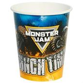Monster Jam 9oz Paper Cups (8)