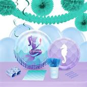 Mermaids Under The Sea16 Guest Party Pack