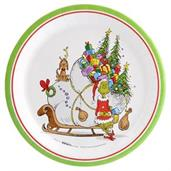 "Dr. Seuss Gr"" Dinner Plate (8)"