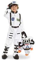 NASA Jr. Astronaut Suit White Toddler/Child Costume