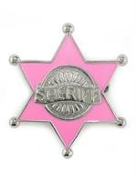 Pink Sheriff Badge