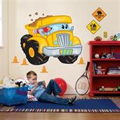 Construction Pals Giant Wall Decals