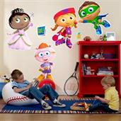 Super Why! Giant Wall Decals