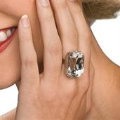 Faux Diamond Ring