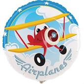 "Airplane Adventure 18"" Foil Balloon"