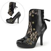 Steamy Steampunk Adult Boots