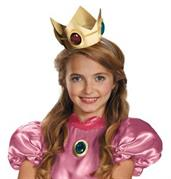 Super Mario Brothers Princess Peach Crown & Amulet