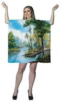Bob Ross: Painting Tree Tunic Dress