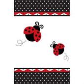 LadyBug Fancy Plastic Tablecover
