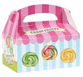 Candy Shoppe Empty Favor Boxes