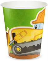 Construction Pals 9 oz. Cups