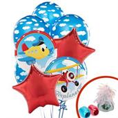 Airplane Adventure Balloon Bouquet