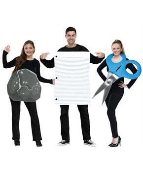 rock paper scissor adult costume. Black Bedroom Furniture Sets. Home Design Ideas