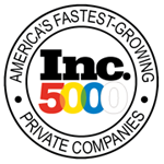Proud to be on the Inc. 5000 list for 2018