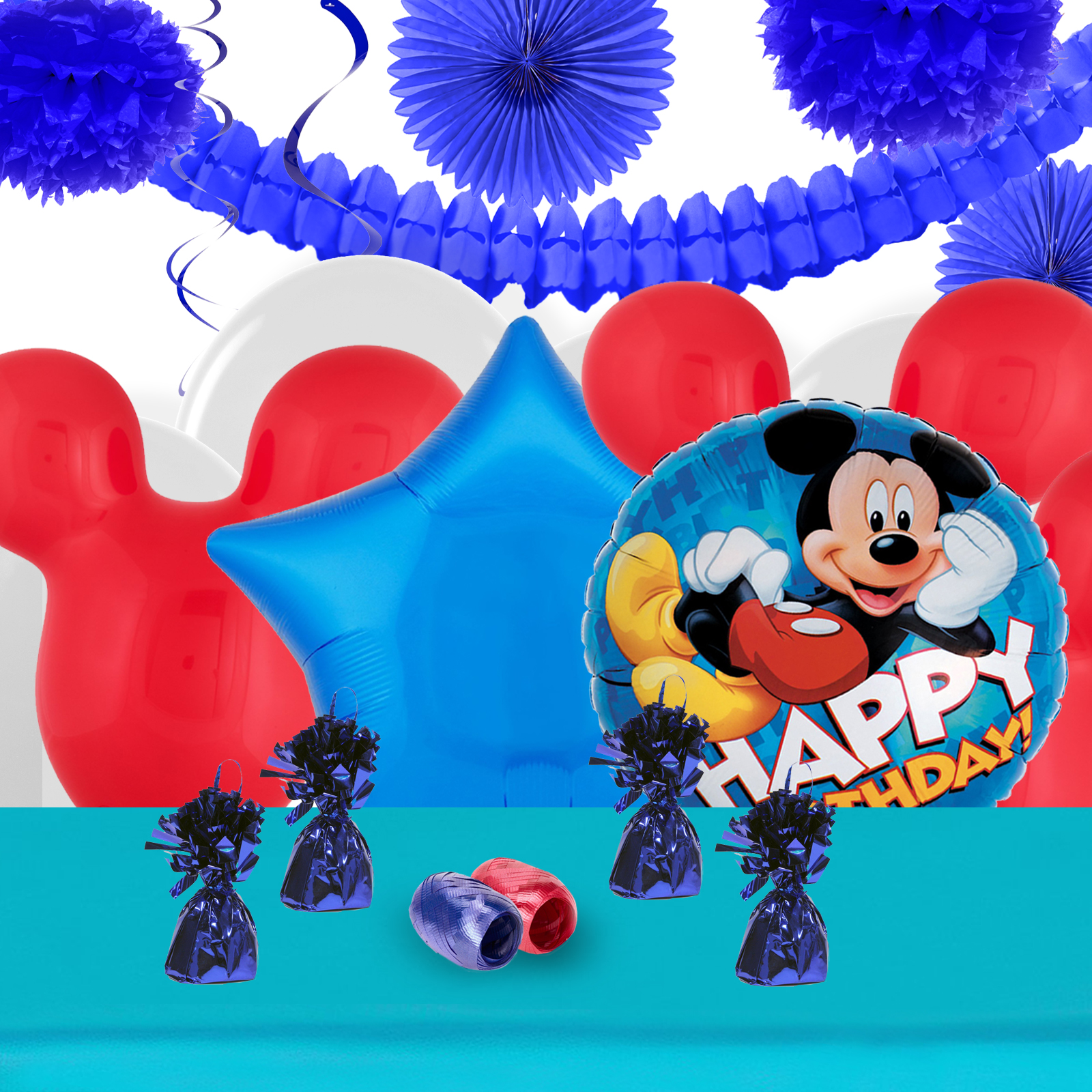 Mickey roadster deco kit for Deco mickey