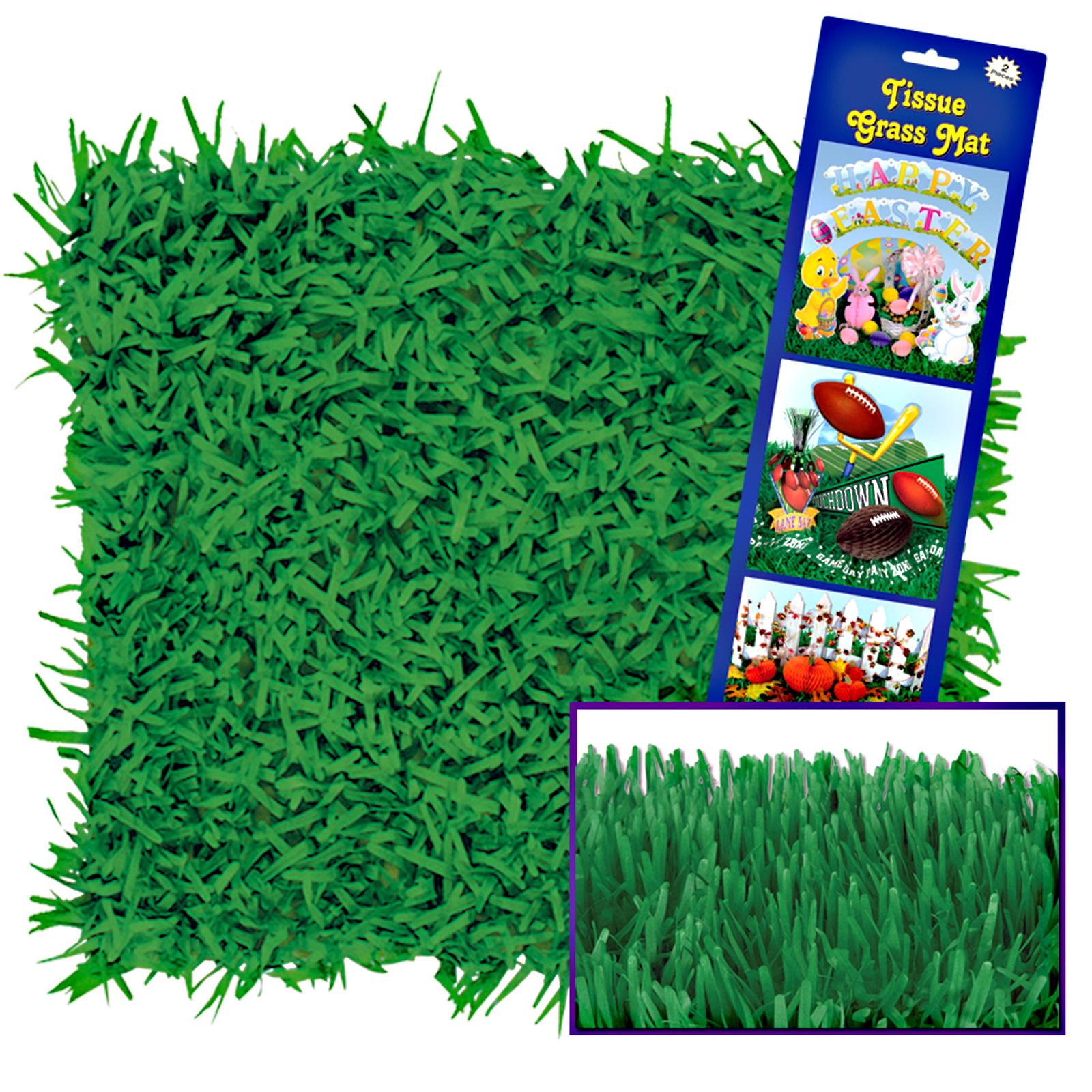 Green Grass Tissue Mats 15 Quot H X 30 Quot W Partybell Com