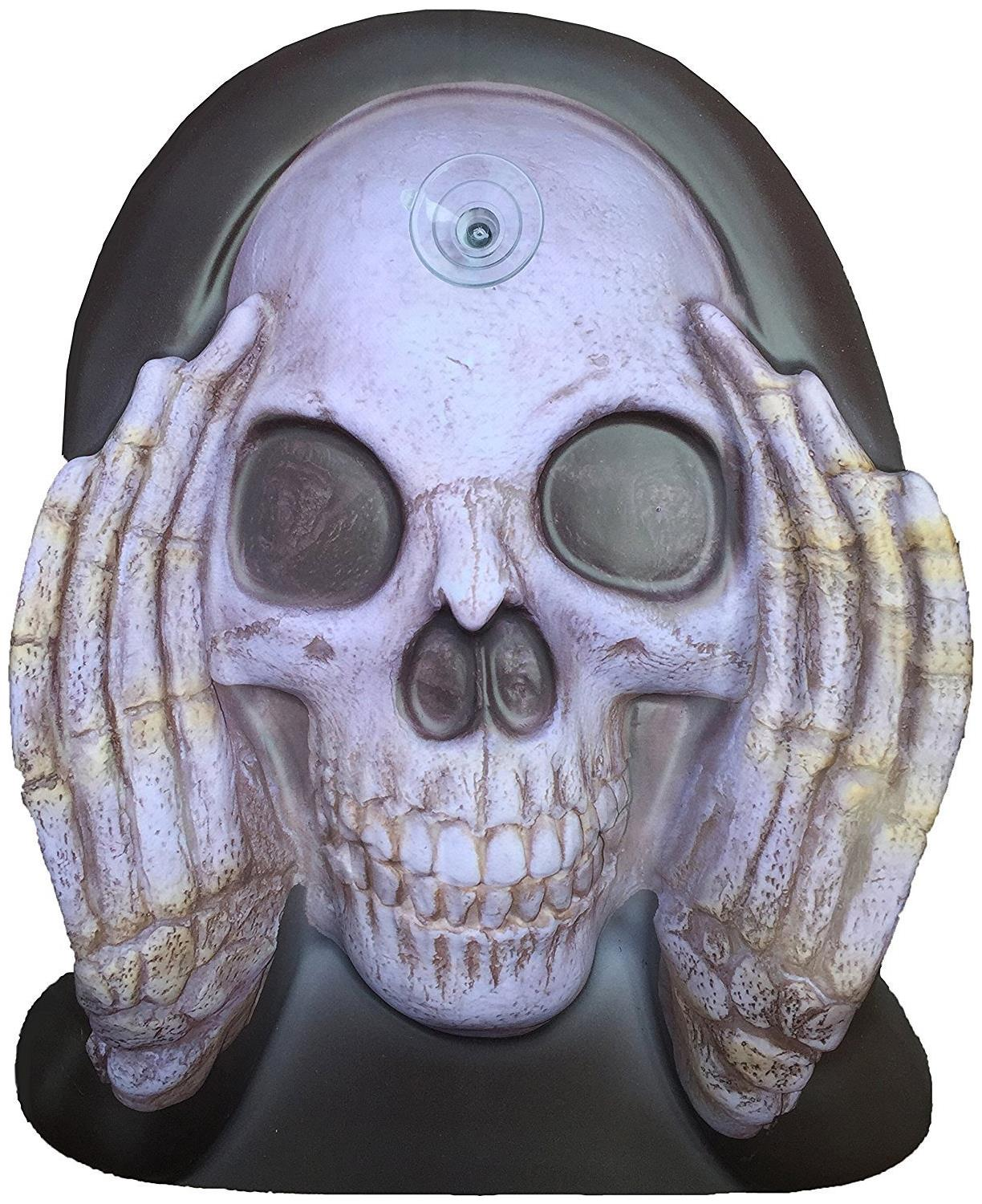 Scary Peeper Reaper Window Cling Halloween Decoration ...