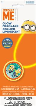 Minions Despicable Me Glow Necklace