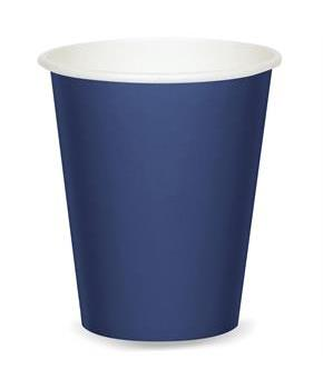Navy 9 oz. Paper Cups