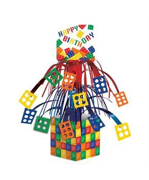 Building Block Party Cascade Centerpiece