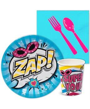 Superhero Girl Snack Party Pack
