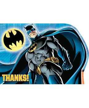 Batman Thank You Notes