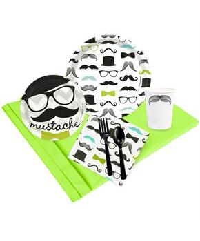 Mustache Man Party Pack for
