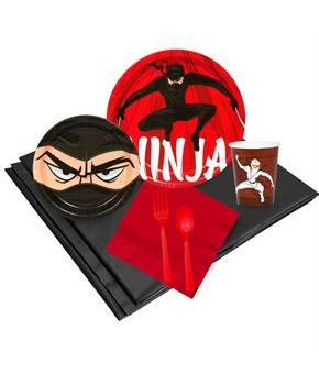 Ninja Warrior Party Pack for