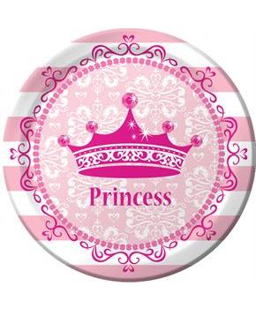 Princess Party Dinner Plates