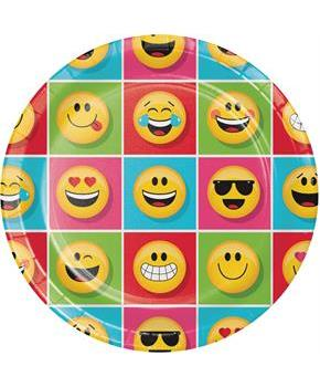 "Show Your Emojions 9"" Dinner Plates"
