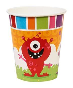 Monsters 9oz Paper Cups