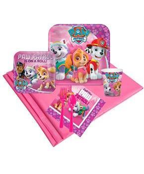 Pink Paw Patrol 16 Guest Party Pack