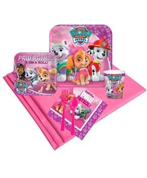 Pink Paw Patrol Girl Party Pack