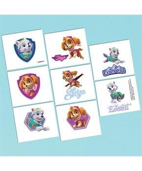 Pink Paw Patrol Girl Tattoos