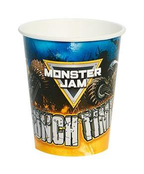 Monster Jam 9oz Paper Cups