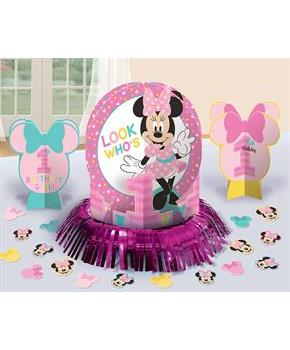Disney Minnie Mouse 1st Birthday Decorating Kit
