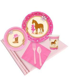 Western Cowgirl 16 Guest Party Pack