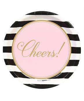 Cheers To You! Dinner Plates