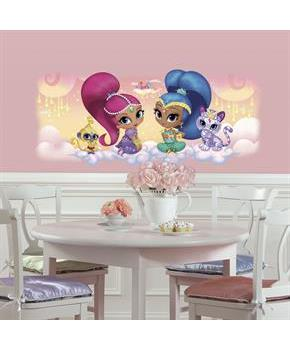 Teen Shimmer & Shine Burst Giant Wall Decal