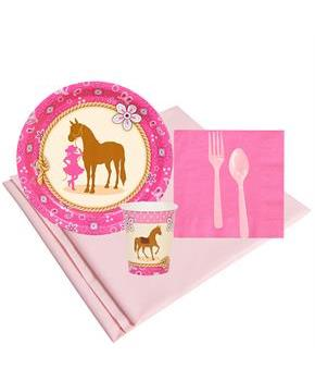 Western Cowgirl 8 Guest Party Pack